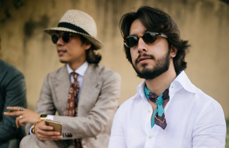 Street Style at Pitti Uomo.