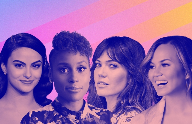 Camila Mendes, Issa Rae, Mandy Moore and Chrissy Teigen are participating in PopSugar Play/Ground.