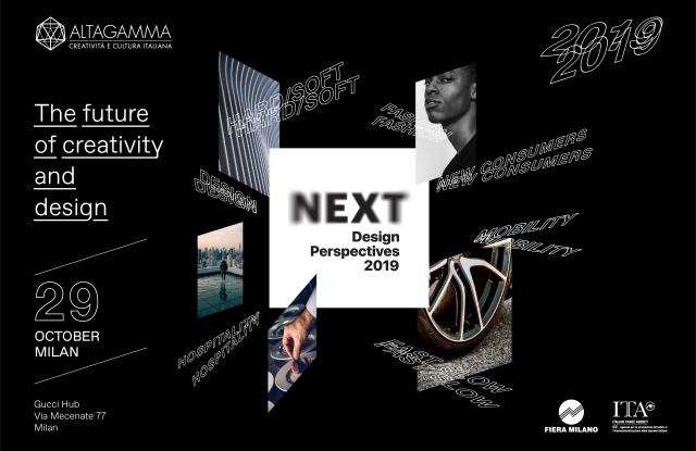 """The 2019 edition of """"Next Design Perspectives"""" to be held Oct. 29 at Milan's Gucci Hub."""