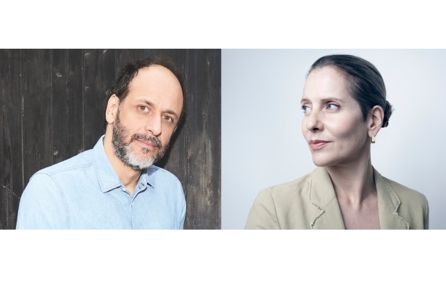 Luca Guadagnino and Paola Antonelli