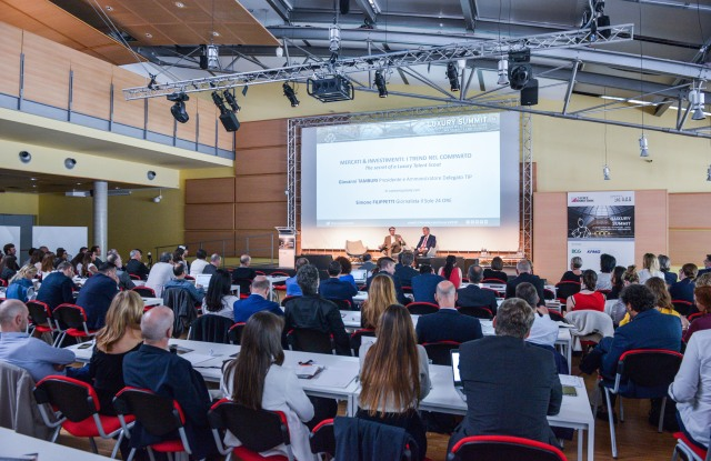 The Luxury Summit organized by the 24Ore Business School in collaboration with economic newspaper Il Sole 24 Ore.