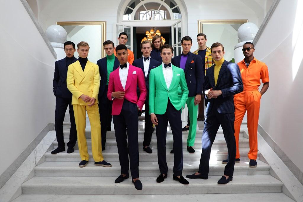 Ralph Lauren Purple Label Men's Spring 2020