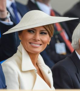 Melania Trump75th Anniversary of D-Day, Portsmouth, UK - 05 Jun 2019