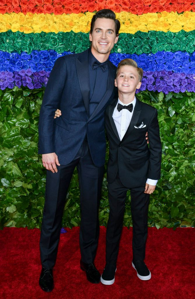 Matt Bomer and Henry Halls73rd Annual Tony Awards, Arrivals, Radio City Music Hall, New York, USA - 09 Jun 2019Wearing Giorgio Armani