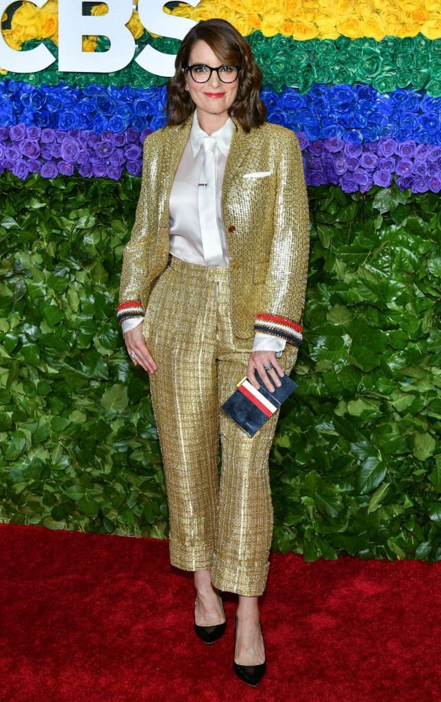 Tina Fey73rd Annual Tony Awards, Arrivals, Radio City Music Hall, New York, USA - 09 Jun 2019Wearing Thom Browne same outfit as catwalk model *10128919be