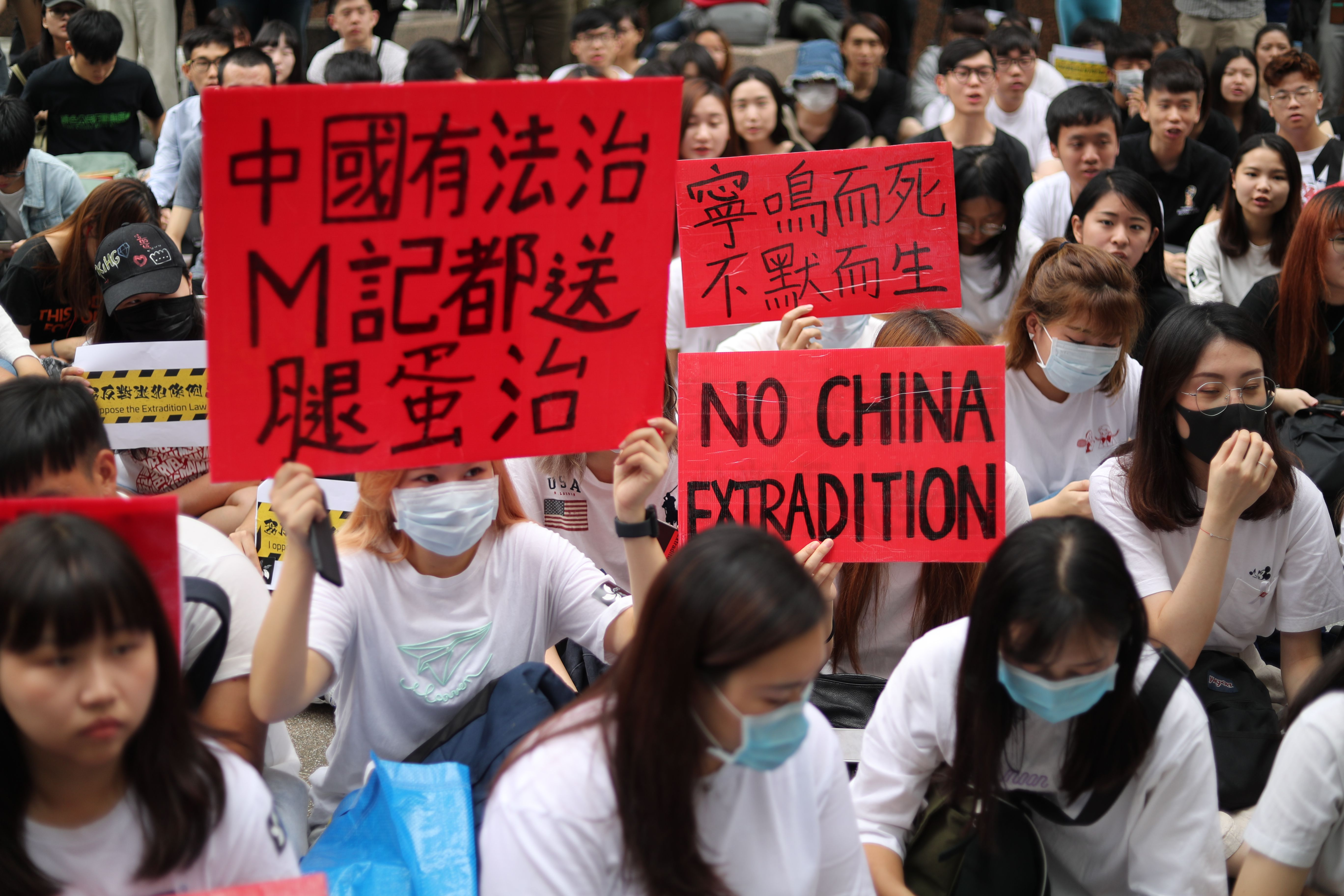 Demonstrators fear that the extraditions could be a tool for Beijing to target political dissenters in the semi-autonomous city, further eroding civil freedoms.
