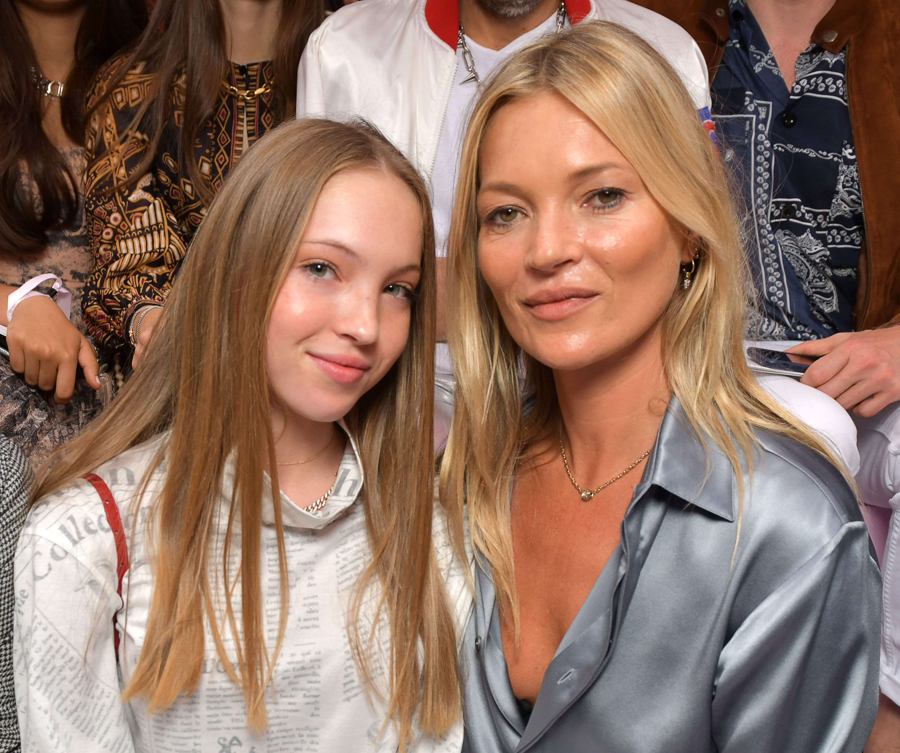 Kate Moss and daughter Lila Grace Moss Hack in the front rowDior Men show, Front Row, Spring Summer 2020, Paris Fashion Week Men's, France - 21 Jun 2019