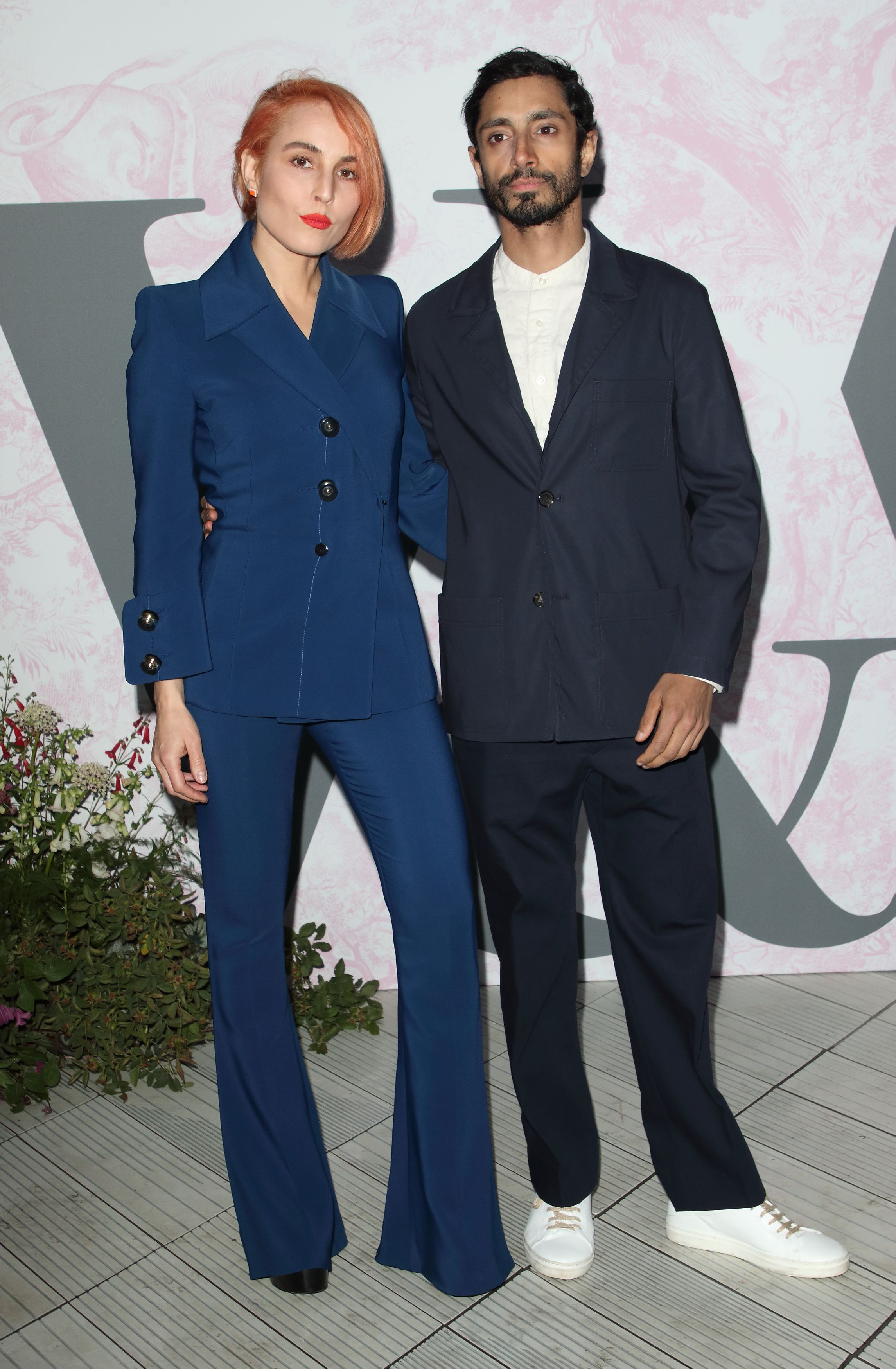 Noomi Rapace and Riz Ahmed V&A Summer Party