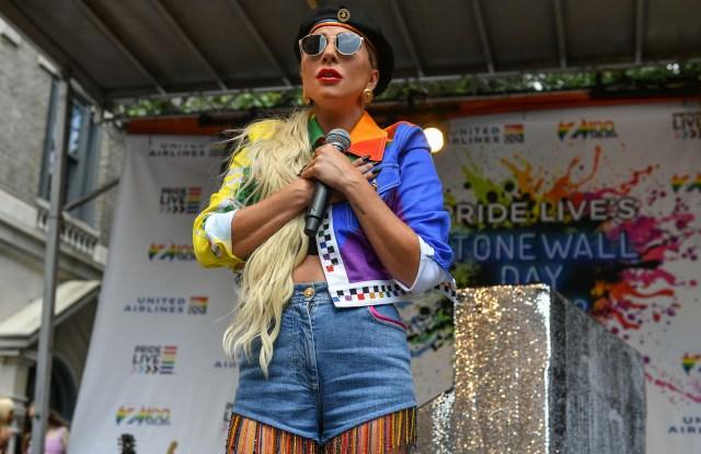 Lady GagaZ100 Pride Live Stonewall Day concert, New York, USA - 28 Jun 2019