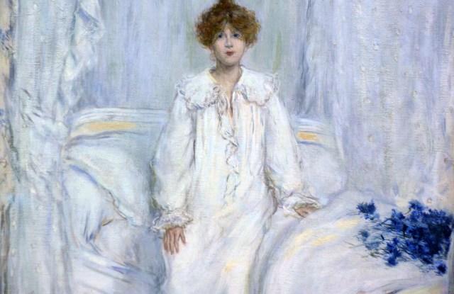 Le Reveil 1890. Jean Francois RaffaelliBritish MuseumVARIOUS