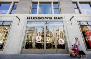 An exterior view of the new Canadian retail business group Hudson's Bay Company store in Amsterdam, The Netherlands, 04 September 2017 (issued 05 September 2017). The first of ten department stores in the Netherlands open the doors for customers on 04 September.Hudson's Bay Company group opens in Amsterdam, Netherlands - 04 Sep 2017