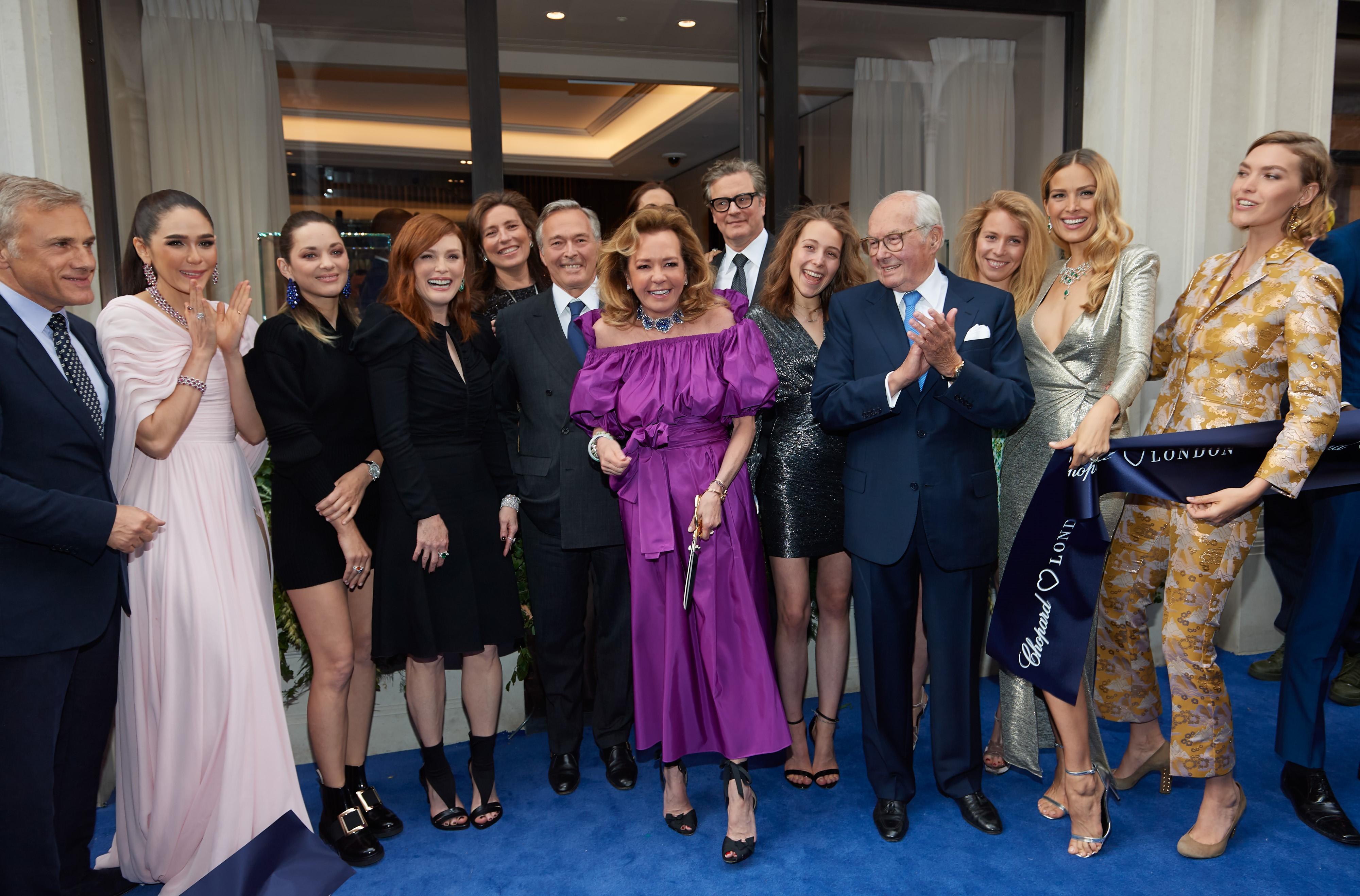 Marion Cotillard, Julianne Moore, Caroline Scheufele, Petra Nemcova
