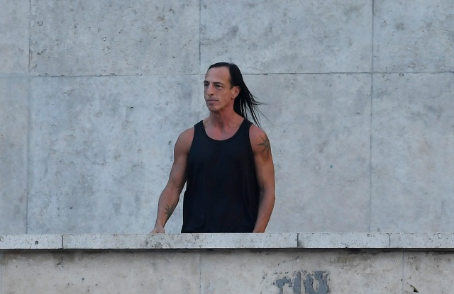 Rick Owens on the catwalkRick Owens show, Runway, Spring Summer 2019, Paris Fashion Week, France - 27 Sep 2018
