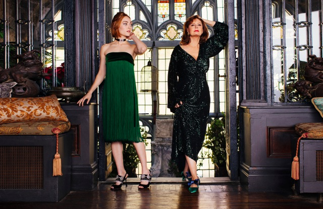 Susan Sarandon and AnnaSophia Robb in Roger Vivier's latest film short