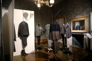 A view of Olivier Saillard's new exhibition in Florence.