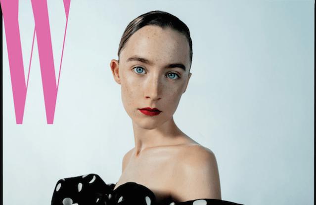 Saoirse Ronan on W's cover 2019