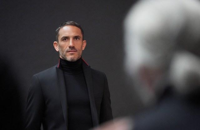 Sébastien Jondeau has been named men's wear ambassador for Karl Lagerfeld.
