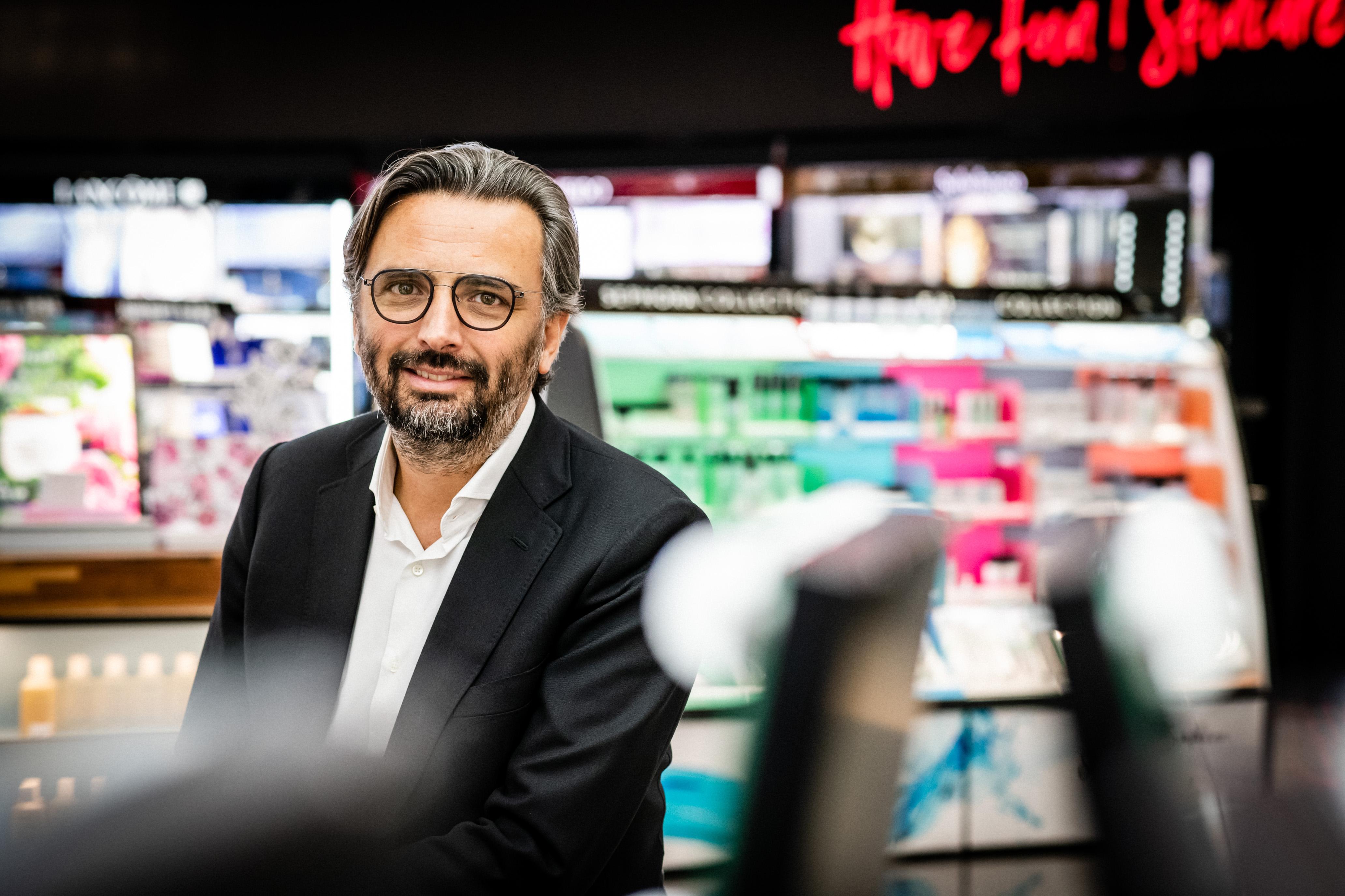 Sephora Asia president Benjamin Vuchot.