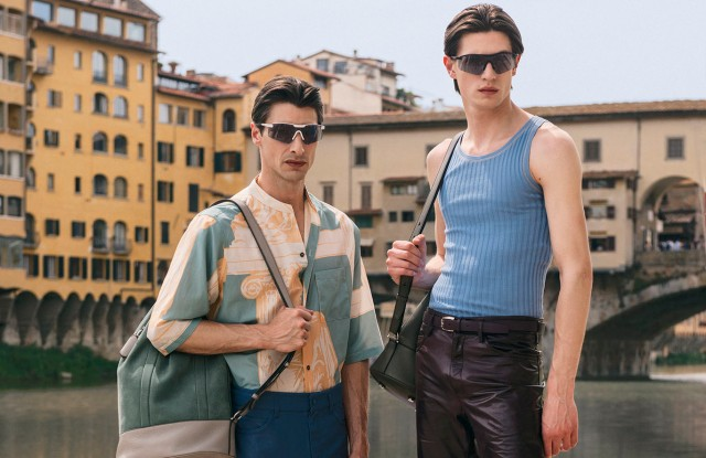 Looks from the Salvatore Ferragamo Spring 2020 collection.