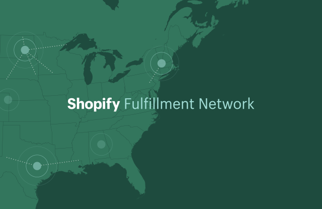 In June, Shopify announced a new fulfillment network, to help smaller merchants ship faster and compete with the Amazons of the world.