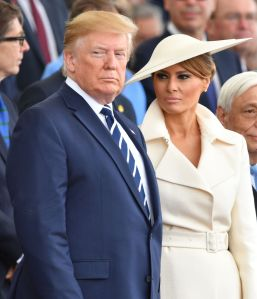 Donald Trump, Melania Trump75th Anniversary of D-Day, Portsmouth, UK - 05 Jun 2019