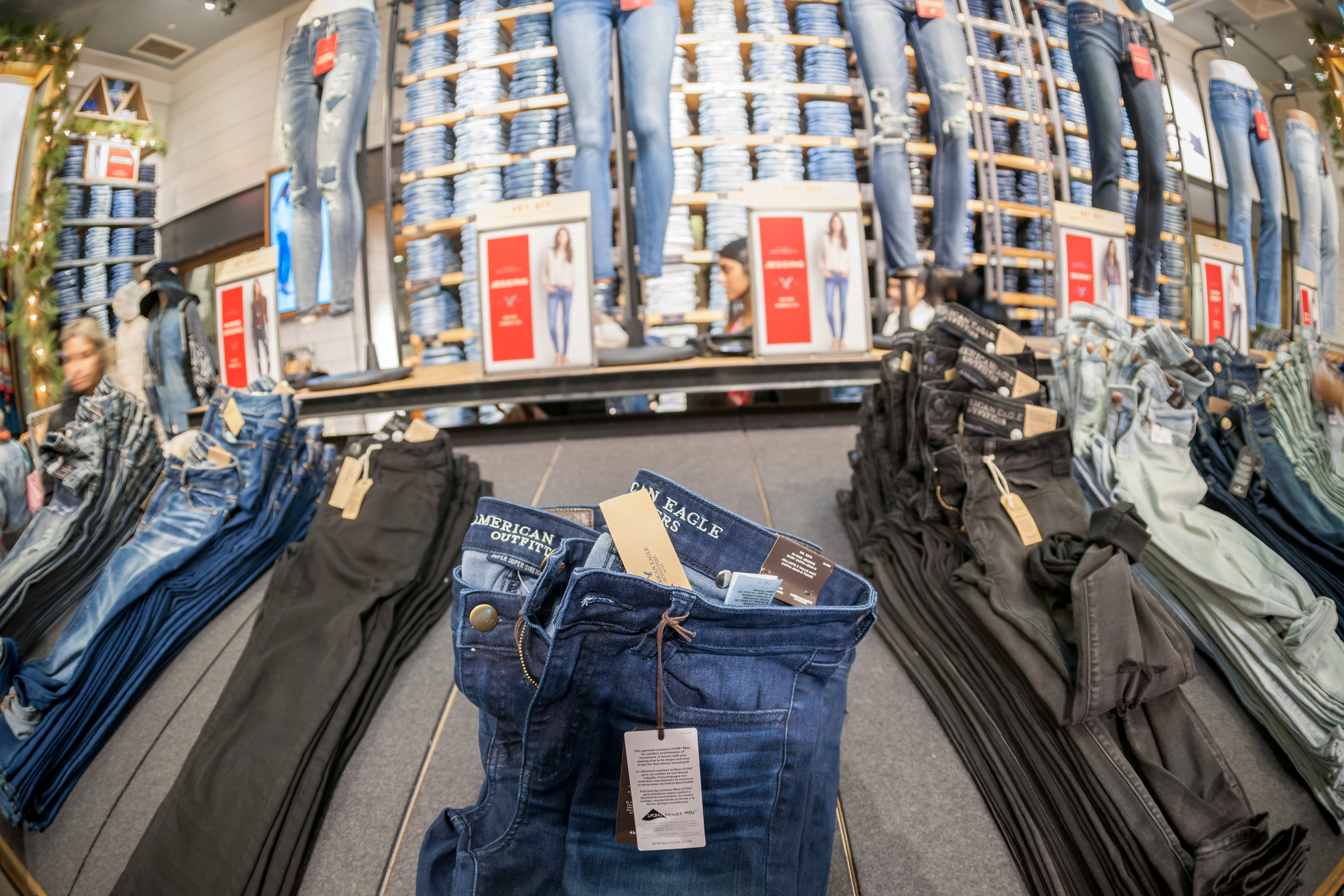american eagle, sustainable