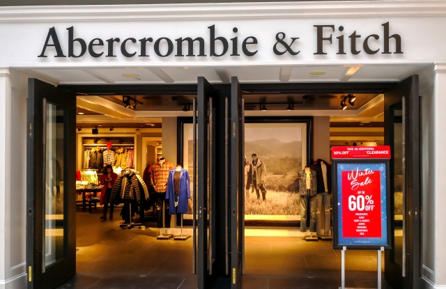 An Abercrombie & Fitch store.