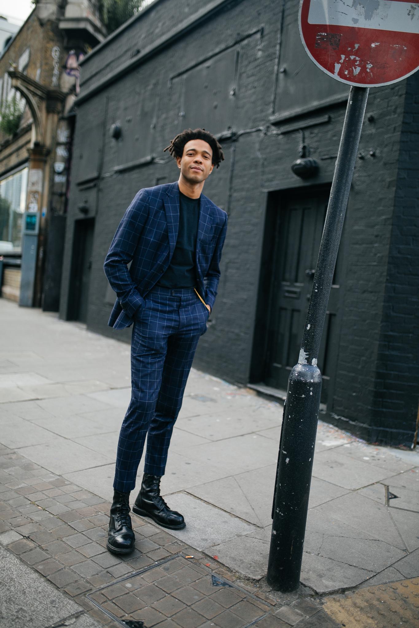 Street style at London Fashion Week Men's spring 2020