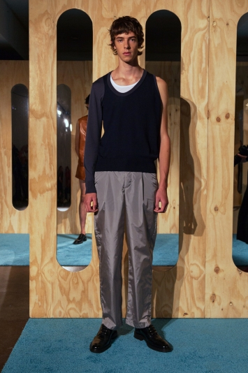 T/Sehne Presentation Men's Spring 2020 photographed in London on 09 June 2019