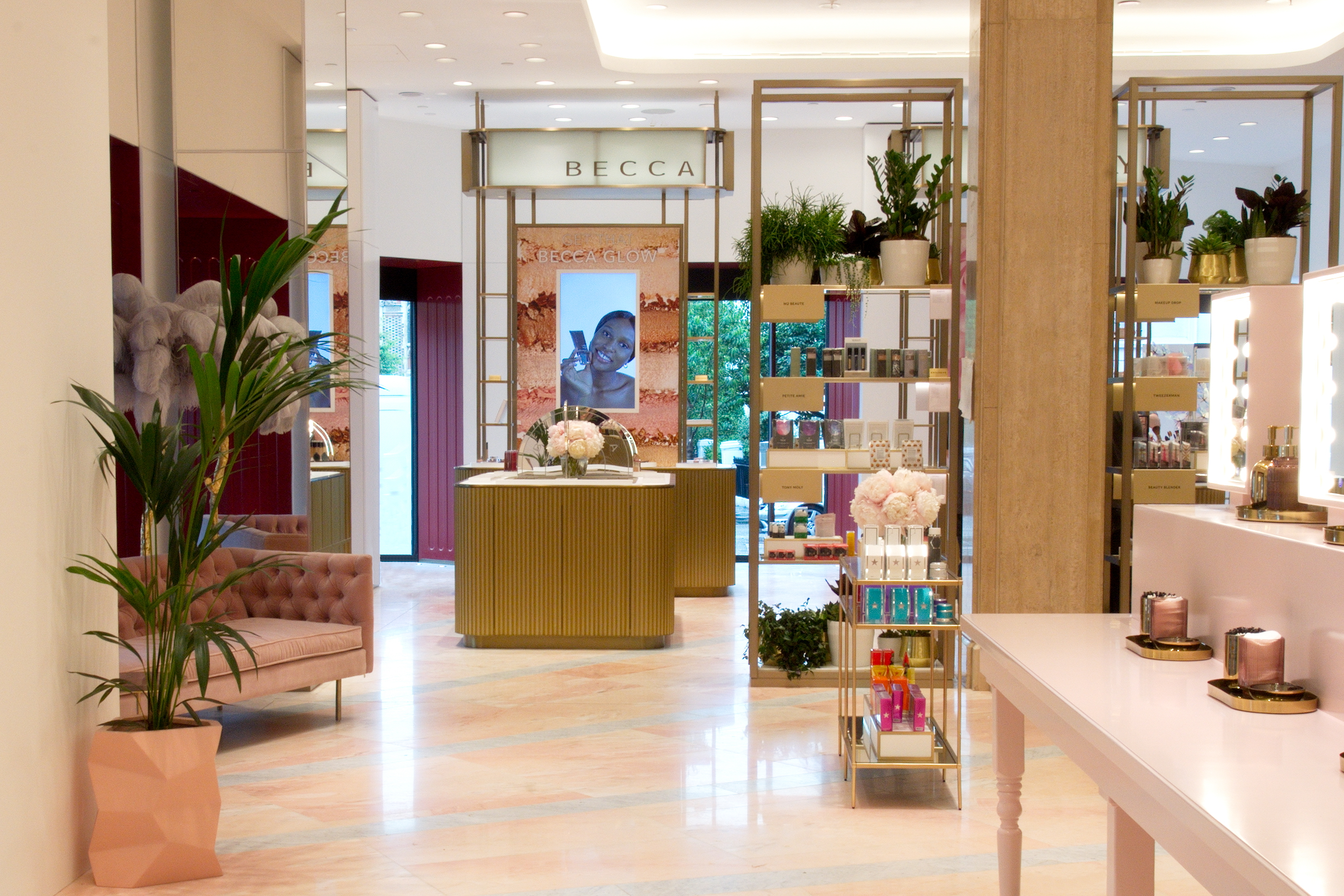 The Beauty Hall at Harrods