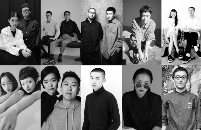 From left to right, upper row: Danshan, Untitlab, Pronounce, Samuel Gui Yang and Ffixxed Studios. Lower row: Staffonly, Private Policy, 8on8, Percy Lau and The Flocks. Untitlab