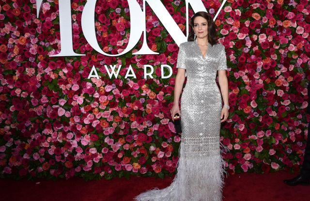 Tina Fey at the Tony Awards 2018