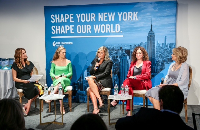 Cristina Cuomo, Claire Olshan, Tanya Golesic, Jill Granoff, and Karen Murray.