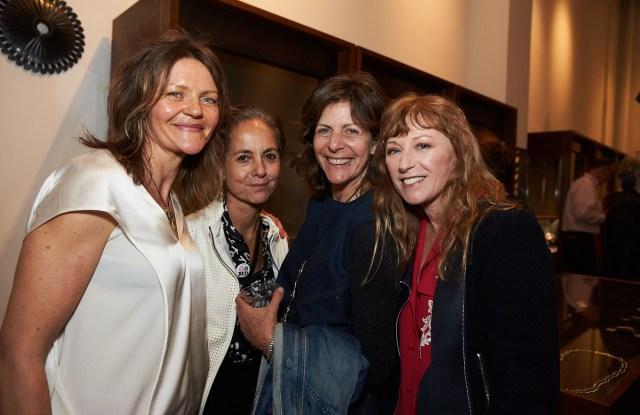 From left, Jill Platner, Maria Cornejo, Donna Lennard and Cindy Sherman.