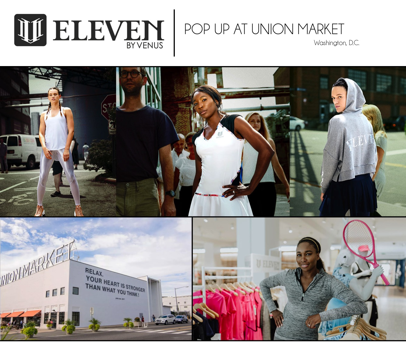 EleVen will open a pop-up next month in Washington, D.C.