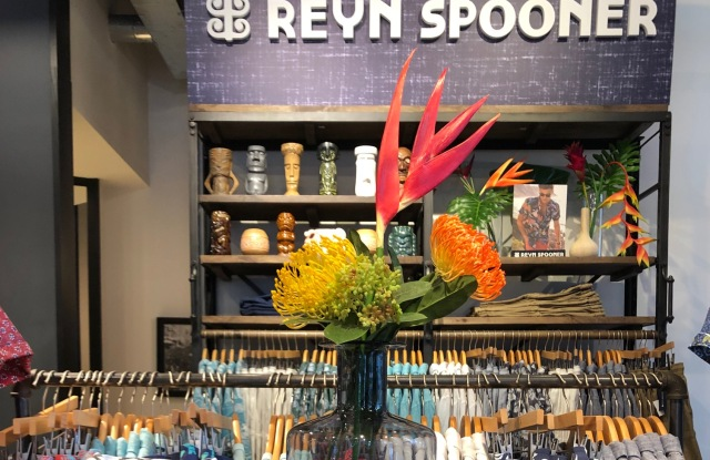The Reyn Spooner shop at Rothmans is the first iteration of the TestShop concept.