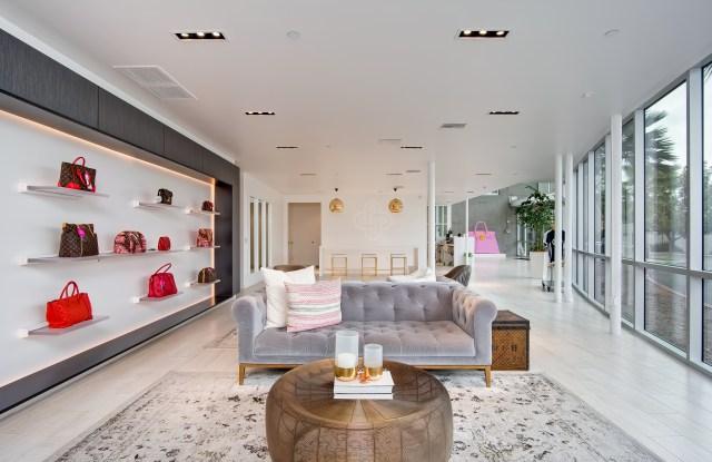A Fashionphile showroom.