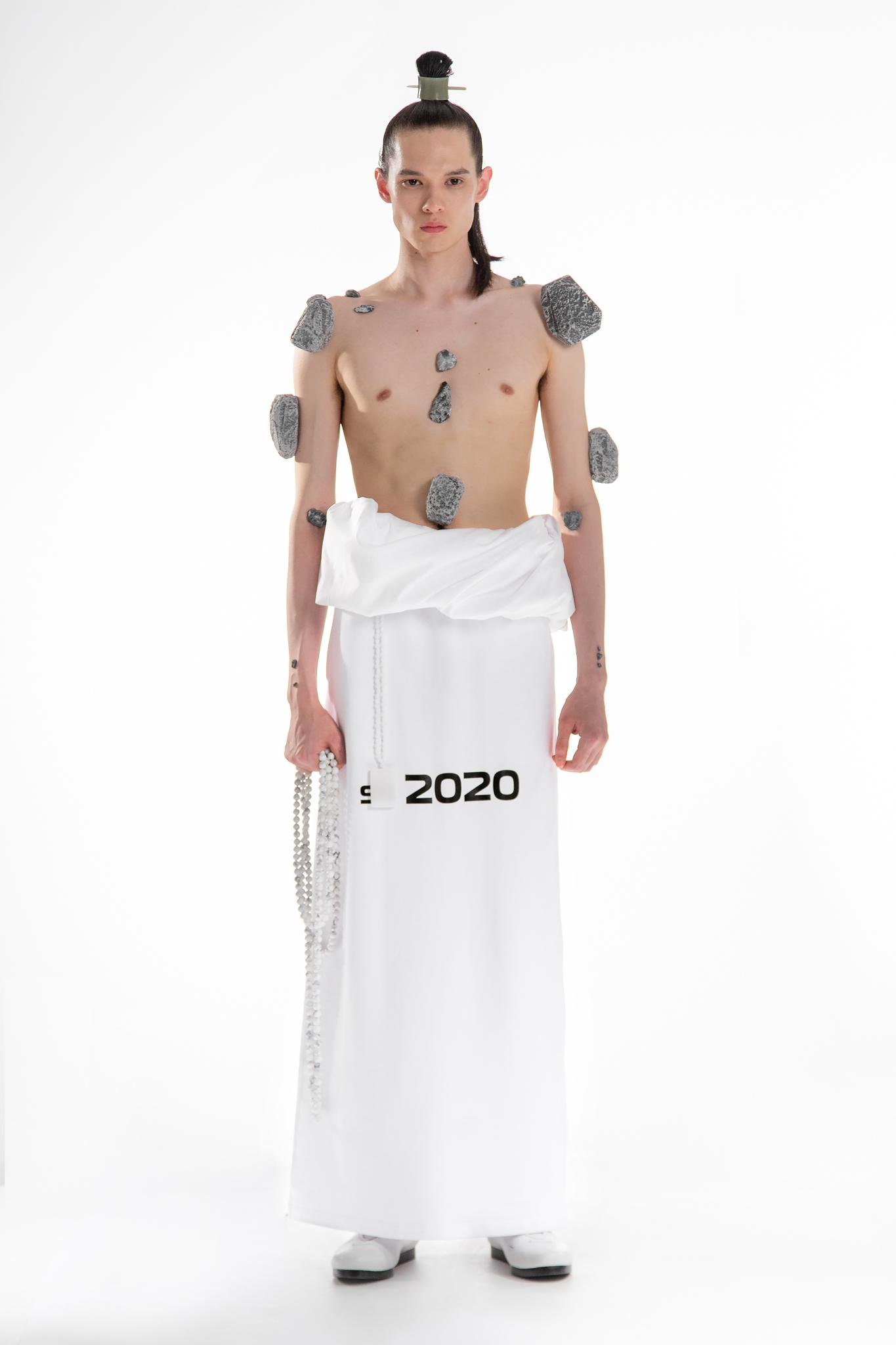 Xander Zhou Presentation Men's Spring 2020 photographed in London on 09 June 2019