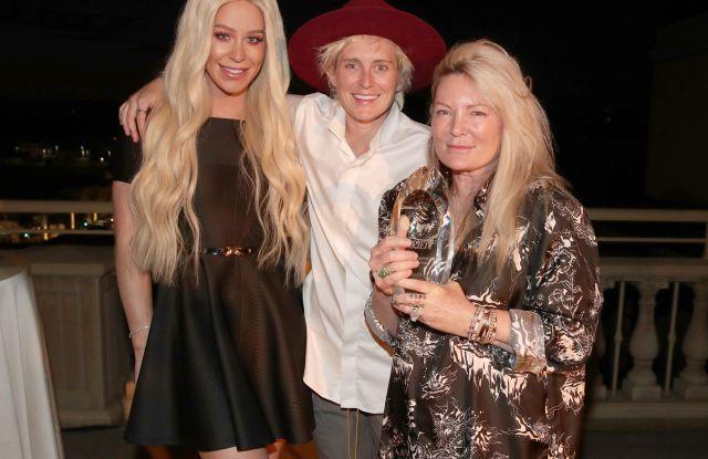 Gigi Gorgeous, Ariadne Getty and Nats GettyVariety's Philanthropist of the Year Dinner, Inside, Los Angeles, USA - 30 Jul 2019