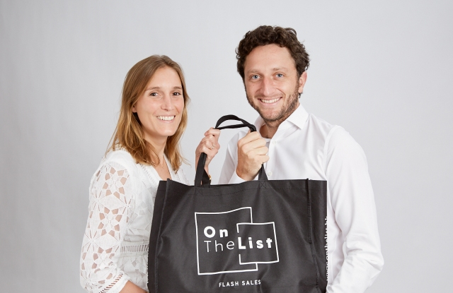 On the List founders Delphine Lefay and Diego Dultzin Lacoste.