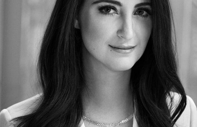 Micaela Erlanger in Platinum Born jewelry.