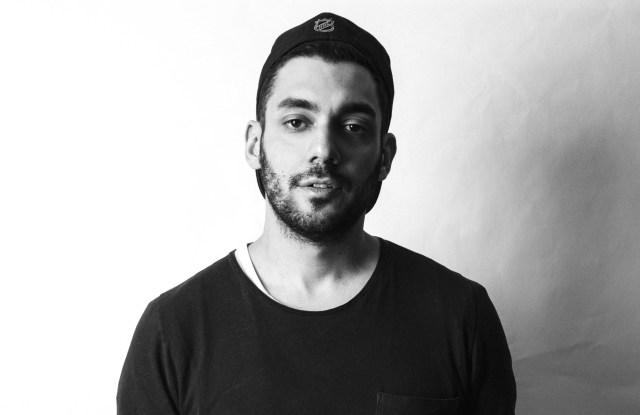 Designer, artist and creative director Aitor Throup.