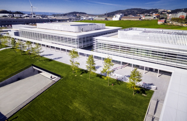 Zara HQ in Arteixo, Spain, near A Coruña.