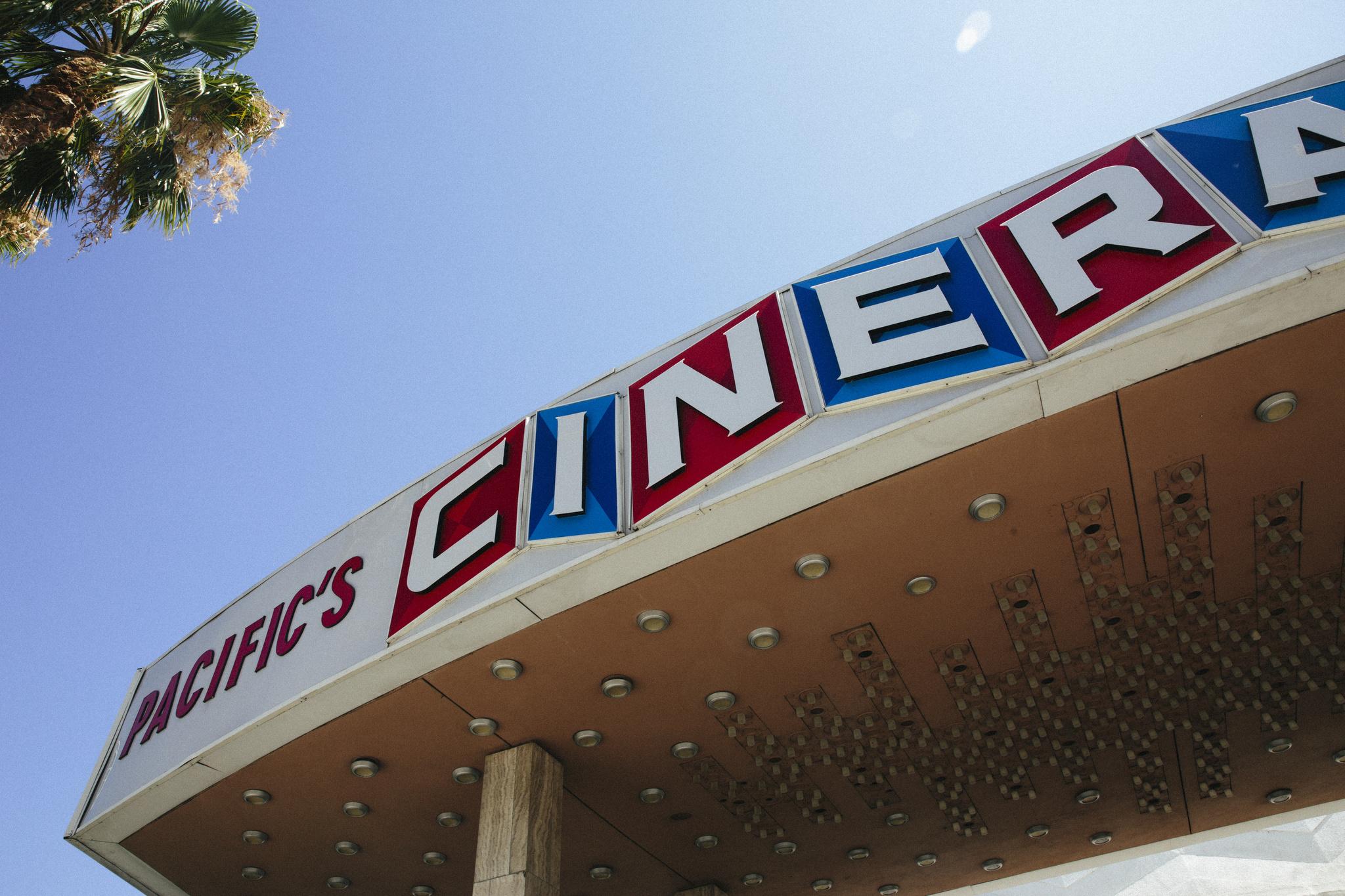 Pacific's cinerama dome.