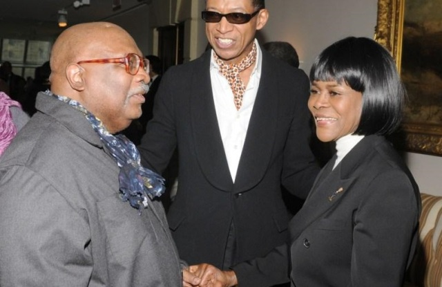 Arthur McGee, B. Michael, Cicely Tyson==MET Luncheon in Honor of Fashion Designer ARTHUR MCGEE==The Metropolitan Museum of Art, NYC==January 26, 2009==© Patrick McMullan==Photo - CLINT SPAULDING/PatrickMcMullan.com====