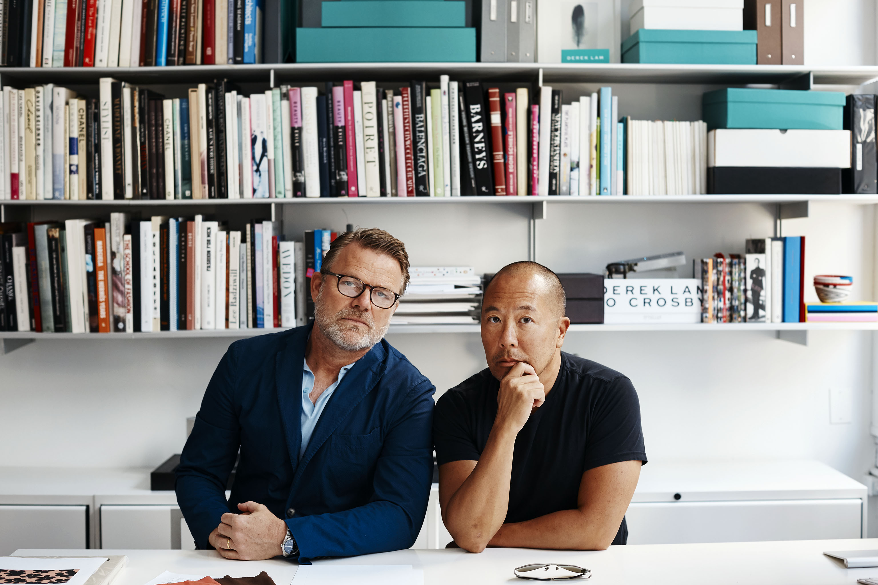 Derek Lam and Jan Hendrik-Schlottmann