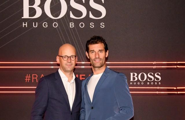 Hugo Boss, Mark Langer, Mark Webber