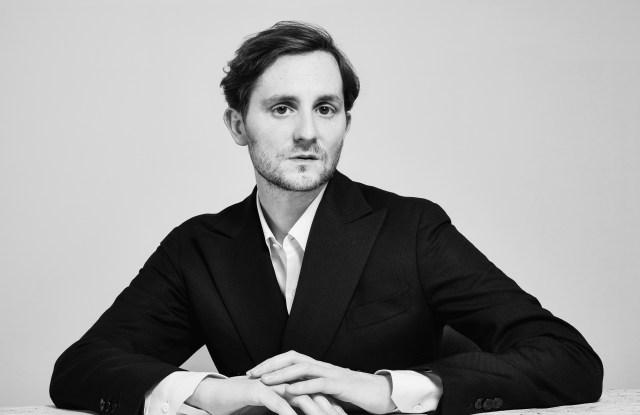 Alan Prada, Italy's Harper's Bazaar editor in chief.