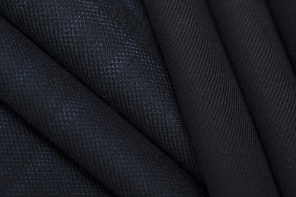"""A fabric from Botto Giuseppe """"Slowoolly"""" line for fall 2020."""