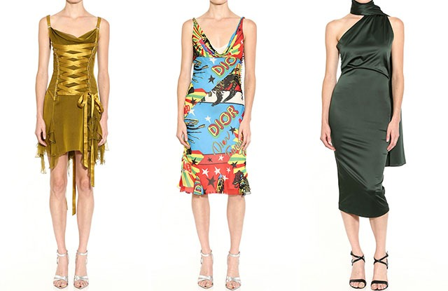 Versace, Dior and Alexander McQueen are part of Bought & Borrowed.